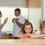 A family going through a Divorce